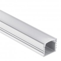 PL2 Arrakis Aluminium Profil för LED stripes 1m/2m + Täckglas Opal/Klar