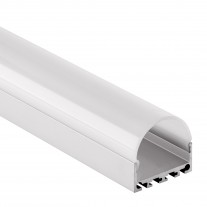 PN4 Minkar C4 Aluminium Profil f. LED stripes 2m + Opal