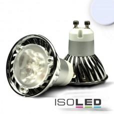 GU10 LED Spot 3x1 Watt, Style 2, kallvit