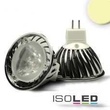 MR16 LED Spot 3x1 Watt, Style 2, varmvit