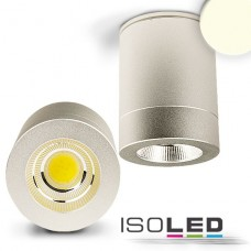 LED Utanpåliggande-Downlight COB 10W, 60°, inkl. Driver neutralvit