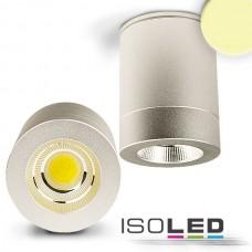 LED Utanpåliggande-Downlight COB 10W, 60°, inkl. Driver varmvit