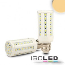 E27 Corn Lampa, 60SMD, 10W, ultravarmvit, dimbar