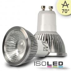 GU10 LED Spot 5,5W COB, 70° varmvit, dimbar