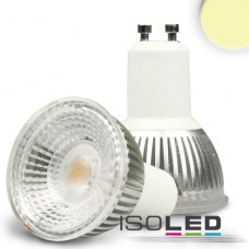 GU10 LED Spot 6W GLAS-COB, 70° varmvit, dimbar