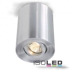 Downlight GU10, borstad aluminium