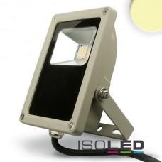 LED Strålkastare 15Watt, varmvit, silver matt