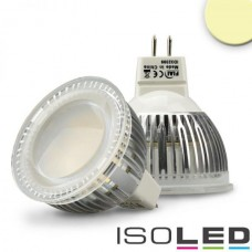 MR16 LED Spot 6W Glas diffus varmvit
