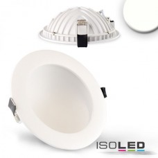 LED Downlight LUNA 12W vit, indirekt ljus, neutralvit