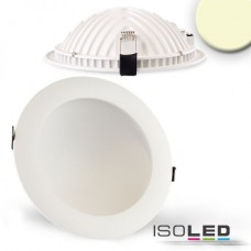 LED Downlight LUNA 18W vit, indirekt ljus, varmvit
