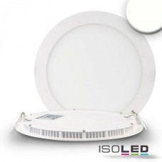 "LED Downlight ""ultra flach"" vit, 18W, 120°, inkl. Driver, neutralvit 4000K"