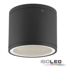 Vägglampa utanpåliggande IP54, GX53, svart