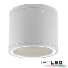 Vägglampa utanpåliggande IP54, GX53, vit
