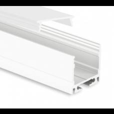 P8 Kocab Aluminium Profil inkl. täckglas Opal
