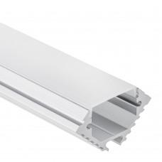 PL 11 Aluminium Profil Theemin för LED Strips 1m/2m + Täckglas/plast Opal