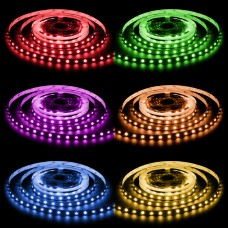 LED Strips 5 Meter 300 SMD-LED 5050 RGB flerfärg 72W 24V