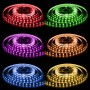 LED Stripes 5 Meter 600 SMD-LED 5050 RGB flerfärg 144W 24V